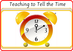 Teaching to tell time
